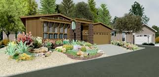 Rock Garden Designs For Front Yards Front Yard Landscape Ideas For Small House In Intriguing Front