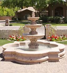 Western Outdoor Designs by Custom Water Fountains Extremely Inspiration 19 Features Gallery
