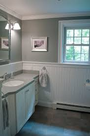 bathroom with wainscoting ideas new bathroom design custom by pnb porcelain look