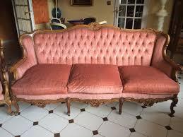canape louis xv achetez canape 2 fauteuils quasi neuf annonce vente à lyon 69