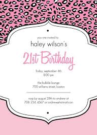 free 21st birthday invitation templates free printable 21st