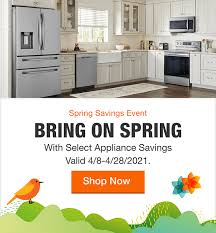 home depot black friday kitchen cabinets appliances the home depot