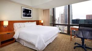How Big Is 480 Square Feet Downtown Los Angeles Accommodations The Westin Bonaventure Los