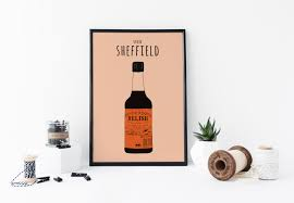 henderson u0027s relish art print taste of sheffield a4 poster