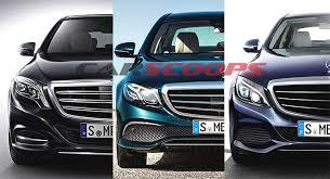 mercedes c class vs s class we visually compare mercedes c e and s class sedans