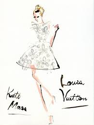 louis vuitton clipart fashion illustration pencil and in color