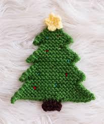 christmas tree pot holder pattern crochet u0026 knit melody u0027s makings