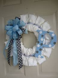 baby shower wreath wreath 27 baby shower decorations to make your