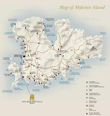 Corinth Greece Map by Mykonos Maps Greece Maps Of Mykonos Island