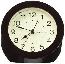 decomates non ticking silent wall and desk alarm clock small