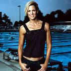 women swimmers body