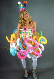balloon dress balloon dress balloon for corporate events festivals
