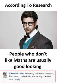 Maths Memes - dopl3r com memes according to research people who dont like