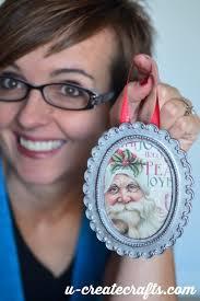 diy mini picture frame ornament u create