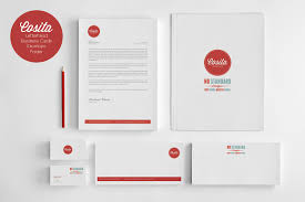 cosita corporate identity stationery templates creative market