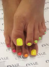 best 25 neon toe nails ideas on pinterest bright toe nails