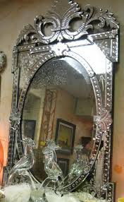 Etched Bathroom Mirror by Decorating Ideas Endearing Picture Of Decorative Silver Metallic