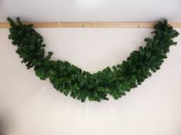 270cm large artificial green christmas garland festive xmas