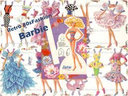 barbie vintage 4 paper doll sets ballerina sweet 16 80 u0027s barbie