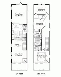 narrow house plan floor plan for narrow lot house house plan modern style house