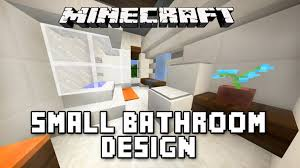 minecraft bathroom designs minecraft tutorial how to build a modern house ep 11 small