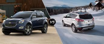 chevy equinox 2016 chevy equinox vs 2016 ford escape