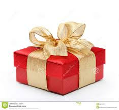 gift box with ribbon gift box with blue ribbon bow stock image royalty free image id