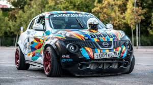 nissan juke type r everything you need to know about the russian juke r gymkhana car