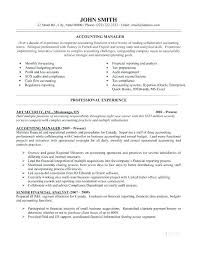 resume accounting manager accounting supervisor resume sample manager contents layouts