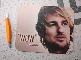 Owen Wilson Meme - owen wilson wow meme mouse pad neoprene mousepad