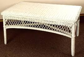 Wicker Trunk Coffee Table White Wicker Coffee Table White Wicker Coffee Table White Wicker