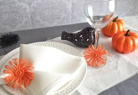 halloween party napkin ring pumpkin table linens orange home decor halloween party napkin ring pumpkin table linens orange home decor set of 20 pcs day of