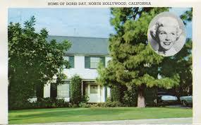 home of doris day north hollywood california hollywood stars