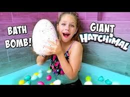 Challenge Bath Diy Hatchimals Bath Bomb Crackle Egg Toys Bath