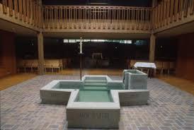 baptistry pools martos baptism