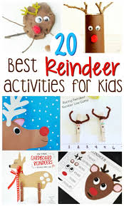 Kids Reindeer Crafts - 20 best reindeer crafts and activities for kids reindeer craft