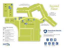 Ccu Campus Map Campus Maps U2013 Penn State Health St Joseph