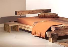 lit en bois design meuble bed frames bedrooms and