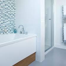 coastal bathrooms ideas coastal themed bathroom blue tiles ideal home coastal bathroom