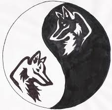 yin yang wolf by skibble1994 on deviantart