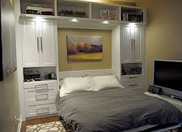 Bench Built Into Wall Bedding Ikea Wall Uk Murphy Beds Get More Space With Image Of