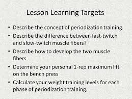 1 Rep Bench Calculator Periodization And Max Lifting Ppt Download