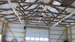 how to make a barn light fixture cha pole barn update we got grid power led and fluorescent lights