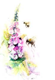 jen buckley art limited editon print of my original bumble bees