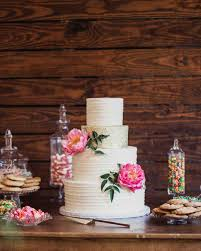 cakes candy and flowers metallic wedding cakes that make a shimmering statement martha
