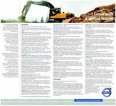volvo trucks jobs jobs in volvo construction equipment vacancies in volvo