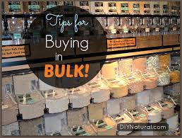 buying in bulk tips and ways to save money