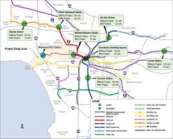 Map Of Ucla Travel Times To Westwood Ucla Using The Westside Subway Extension