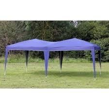 10x10 Canopy Tent Walmart by Amazon Com Palm Springs 10 X 20 Ez Pop Up Blue Canopy New Gazebo