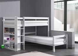 Corner Bunk Bed Kerrossänky FORREST Pyökki X Cm AQ - Right angle bunk beds